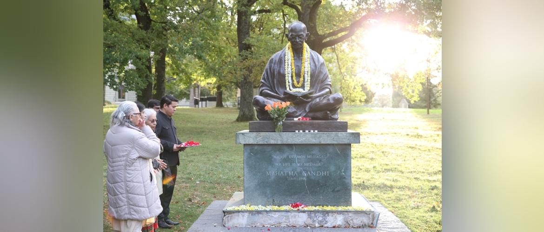 Gandhi Jayanti 2019 celebrations in Geneva, 02nd October 2019