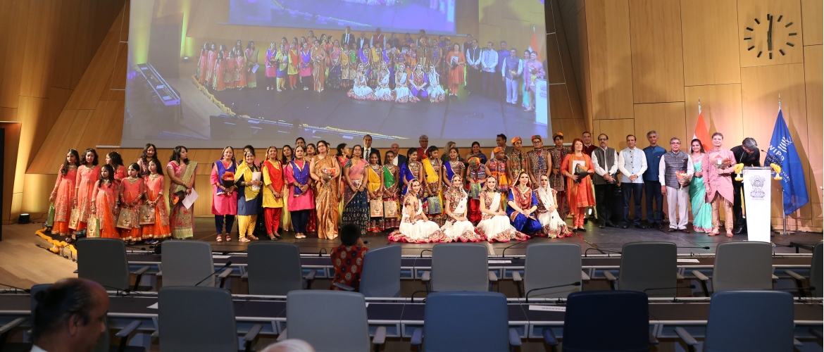 Organization of the cultural event 'Namastey Geneva' in the World Intellectual Property Organization (WIPO),Geneva, 21 September 2019
