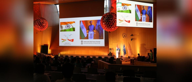 Organization of the cultural event 'Namastey Geneva' in the World Intellectual Property Organization (WIPO),Geneva, 21 September 2019