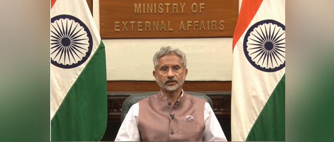 EAM Dr. S. Jaishankar at the high-level Segment of 46th Session of the Human Rights Council, 23 February 2021.